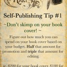Self-Publishing Tip #1