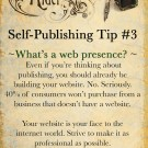 Self-Publishing Tips #3